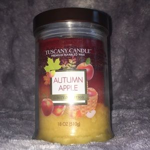 Tuscany Candle Accents - Autumn Apple Candle